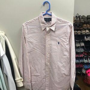 ralph lauren men's small dress shirt